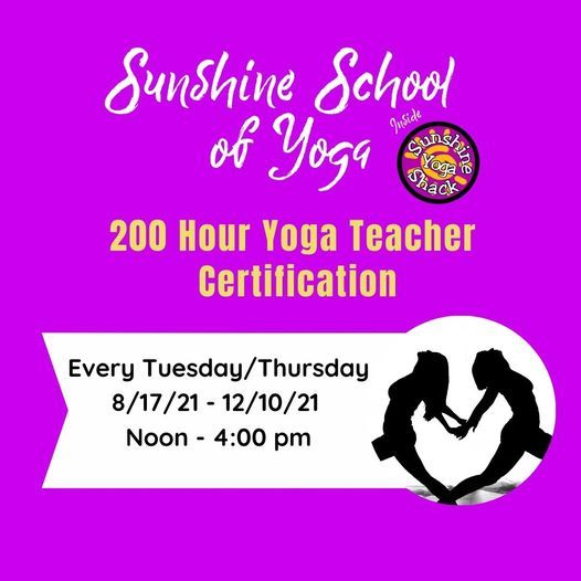 Fall 2021 Tuesday/Thursday 200 Hour Yoga Teacher Certification, 17 August | Event in Arlington | AllEvents.in
