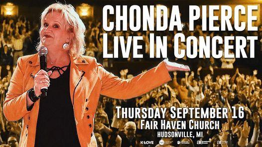 Chonda Pierce Live in Concert - Hudsonville, MI | Event in Hudsonville | AllEvents.in