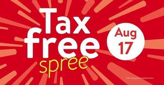 walmart tax free weekend celebration at walmart chicopee
