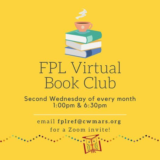 FPL Book Club | Event in Fitchburg | AllEvents.in