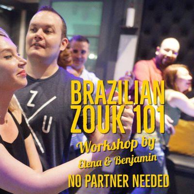 BRAZILIAN ZOUK. Crash Course for Beginners in Houston 1214