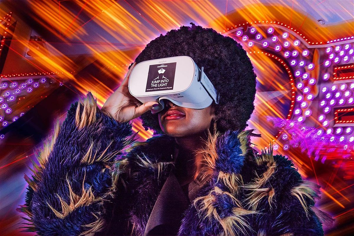 Jump Into The Light Play With Virtual Reality
