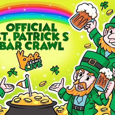 Official St. Patricks Bar Crawl  Louisville KY - Bar Crawl Live