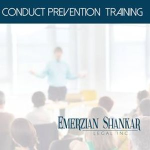 Annual Sexual Harassment & Abusive Conduct Prevention Training
