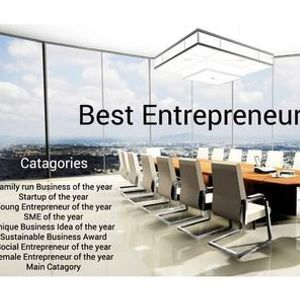 Global Best Entrepreneurs Award III