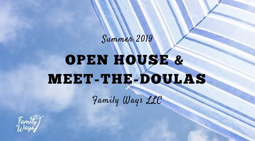 Open House and Meet the Doulas