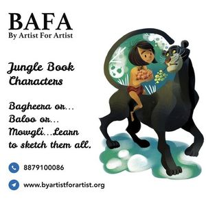 Jungle Book Characters Online Workshops with BAFA