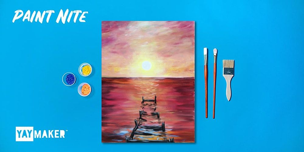 Virtual: Paint Nite: The Original Paint and Sip Party | Online Event | AllEvents.in