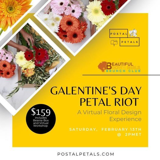 Galentines Day Virtual Diy Flower Arranging Experience February 13 2021 Online Event Allevents In