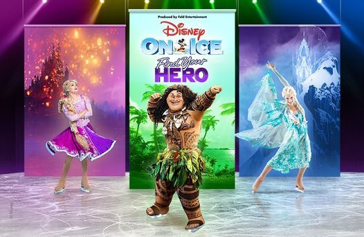 Disney On Ice presents Find Your Hero LIVE at Etihad Arena, 2 September | Event in Sharjah | AllEvents.in