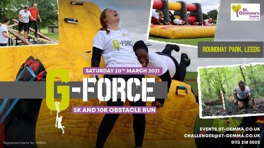 G-Force Obstacle Run, 20 March | Event in Leeds | AllEvents.in