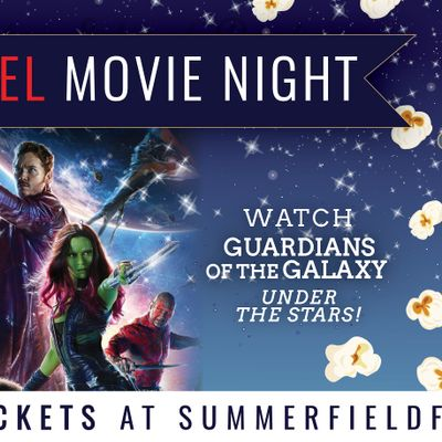 Marvel Movie Night Guardians of the Galaxy