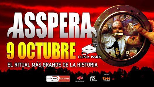 Asspera, 9 October | Event in Buenos Aires | AllEvents.in
