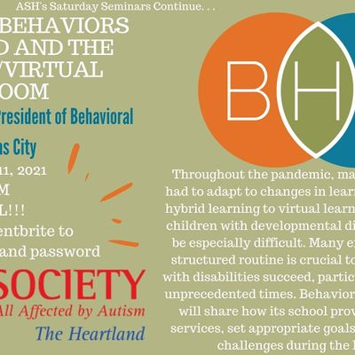 Saturday Seminar Challenging Behaviors During COVID and the Classroom