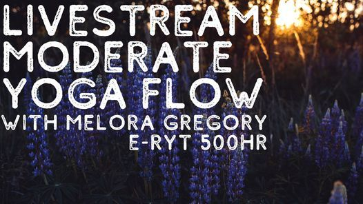 Livestream Moderate Yoga Flow, 20 April | Event in South Portland | AllEvents.in