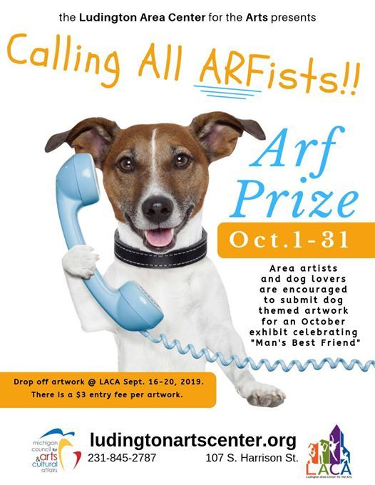 Call to Artists: ARF Prize at Ludington Area Center for the