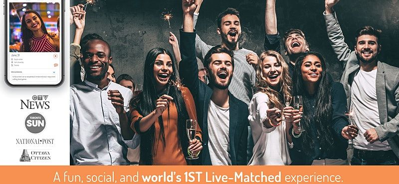 World's 1st Live-Matched Singles Adventure Games | Toronto | Secret RSVP, 19 November | Event in Toronto | AllEvents.in
