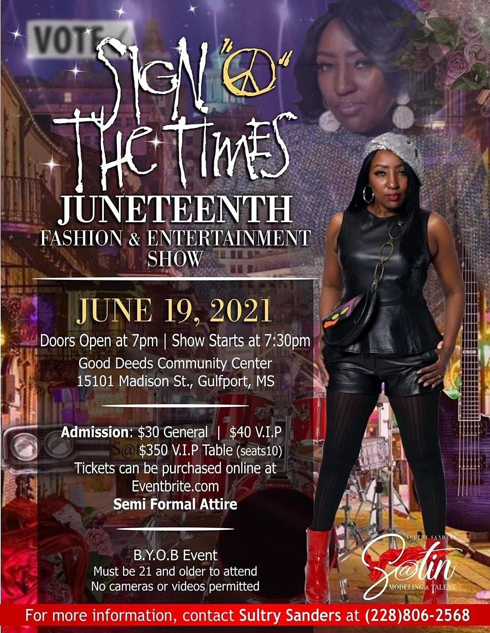 """""""Sign O' The Times"""" Juneteenth Fashion & Entertainment Show, 19 June 