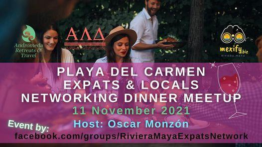 Playa Del Carmen Expats & Locals Networking Dinner Meetup, 11 November   Event in Playa Del Carmen   AllEvents.in