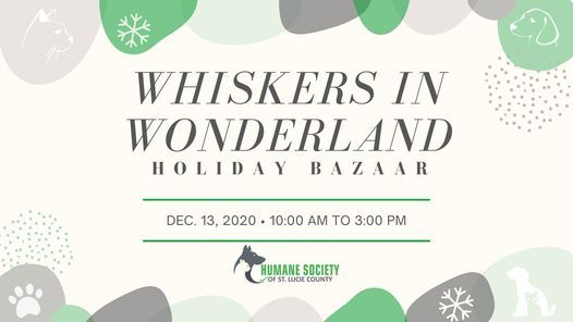 Whiskers in Wonderland Holiday Bazaar, The Humane Society of St