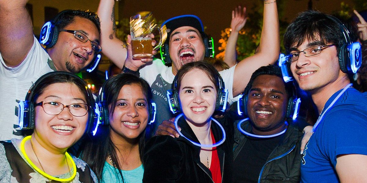 All Ages Silent Disco @ The Container Park - Las Vegas, 23 September | Event in Las Vegas | AllEvents.in