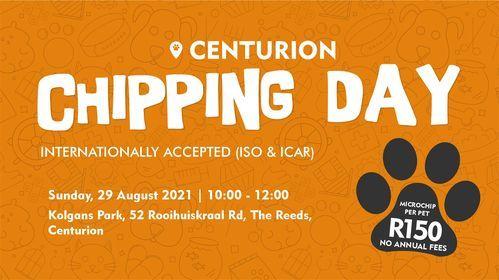 Centurion Chipping Day, 29 August | Event in Centurion | AllEvents.in
