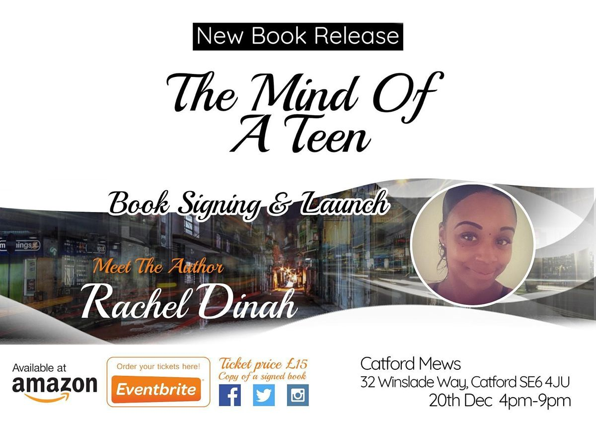 BOOK SIGNING LAUNCH : THE MIND OF A TEEN | Event in London | AllEvents.in