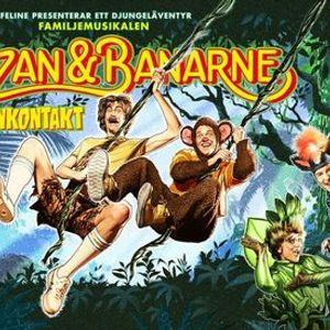 Familjemusikalen Trazan & Banarne - Banankontakt  Jnkping