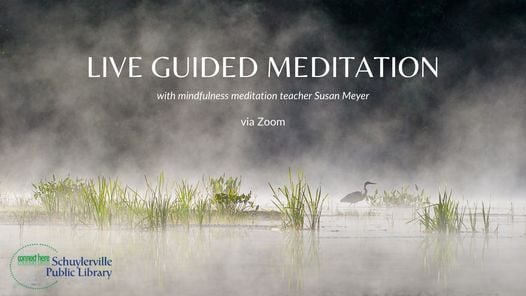 Live Guided Morning Meditation with Susan Meyer on ...