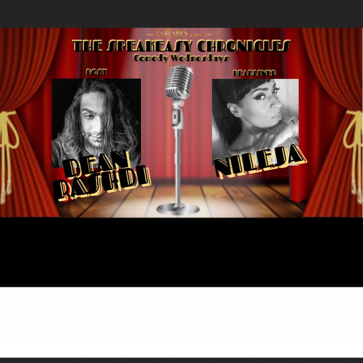 THE SPEAKEASY CHRONICLES Comedy Wednesdays   Event in Fort Lauderdale   AllEvents.in
