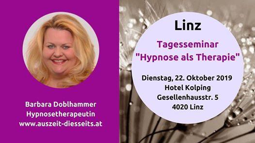 Tagesseminar Hypnose als Therapie mit Barbara Doblhammer