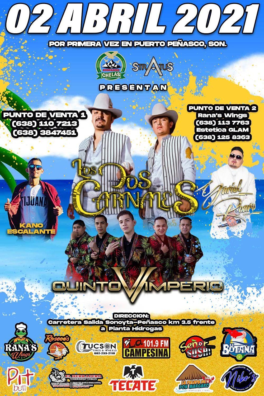 Christmas Puerto Penasco 2021 Se Presentan Los Dos Carnales En Puerto Penasco Sonora Hacienda Monarchas Resort Casino Puerto Penasco April 2 To April 3 Allevents In
