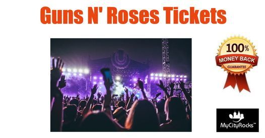 Guns N' Roses Tickets East Rutherford NJ MetLife Stadium 8/5, 5 August | Event in East Rutherford | AllEvents.in