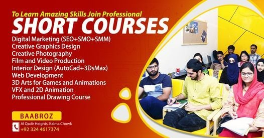 Professional Courses for Career Jobs, Business and Freelancing, 29 May | Event in Lahore | AllEvents.in