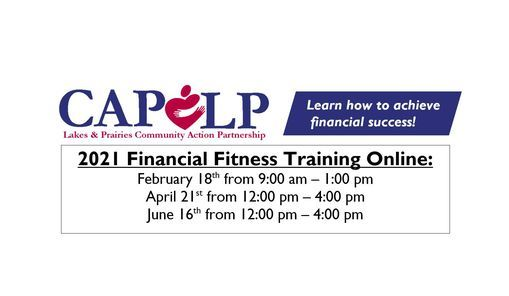 Financial Fitness Class Online, 21 April | Event in Moorhead | AllEvents.in