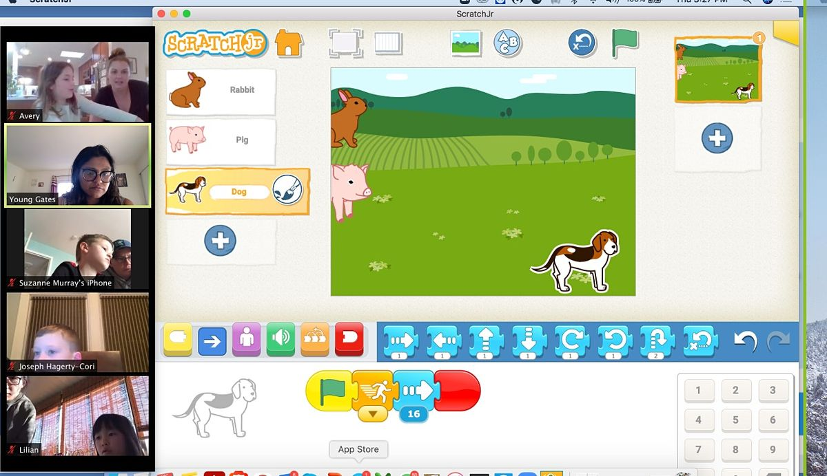 Kids Online 4 day Camp of Scratch Junior - Start Coding With Fun, 22 November | Online Event | AllEvents.in