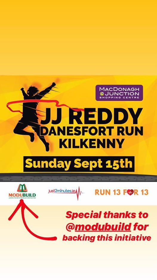 JJ Reddy Danesfort Run 2019