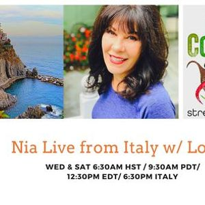 Nia from Italy in English LIVE ONLINE Interactive with Lorna Moglia
