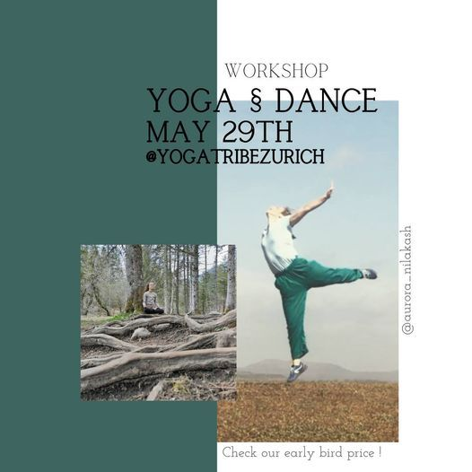 Yoga § Dance with Aurore, 29 May | Event in Kloten | AllEvents.in