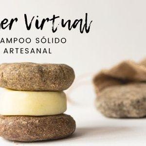 Taller Virtual Shampoo slido artesanal