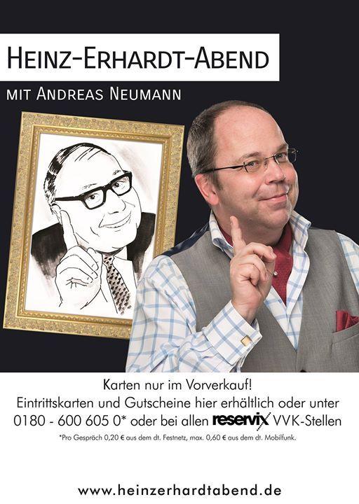 Heinz Erhardt Abend Mit Andreas Neuman At Hotel Restaurant