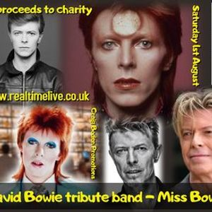 Top David Bowie tribute band at Real Time Live in Chesterfield