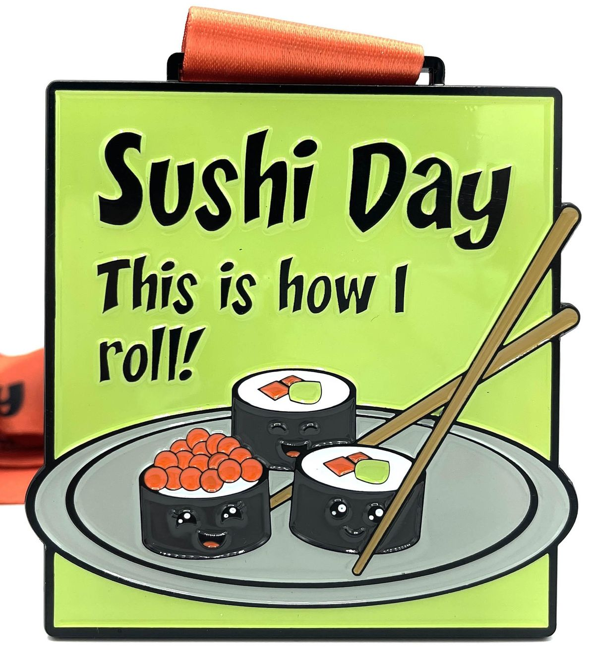 Save $10! Sushi Day 1M 5K 10K 13.1 26.2-Participate from Home.   Online Event   AllEvents.in