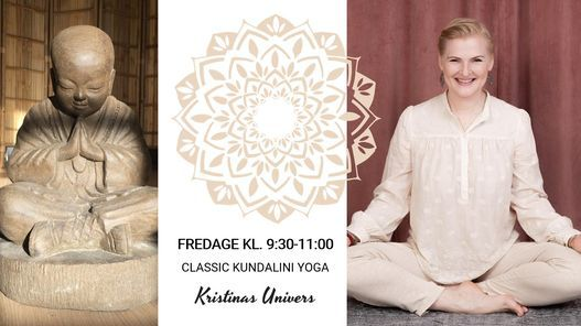 FOREGÅR PT. ONLINE - Classic kundalini yoga - fredage kl. 9:30-11:00, 7 May   Event in Fredericia   AllEvents.in
