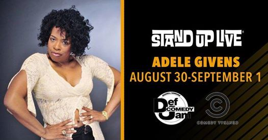 Adele Givens At Stand Up Live