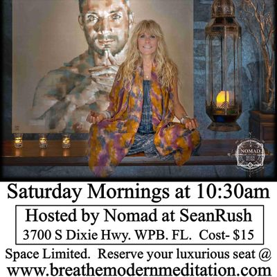 Guided Meditation Experience with Wenji at Nomad at SeanRush