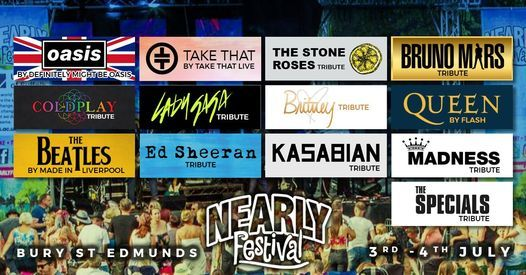 The Nearly Festival Bury St Edmunds 2021, 3 July | Event in Lakenheath | AllEvents.in
