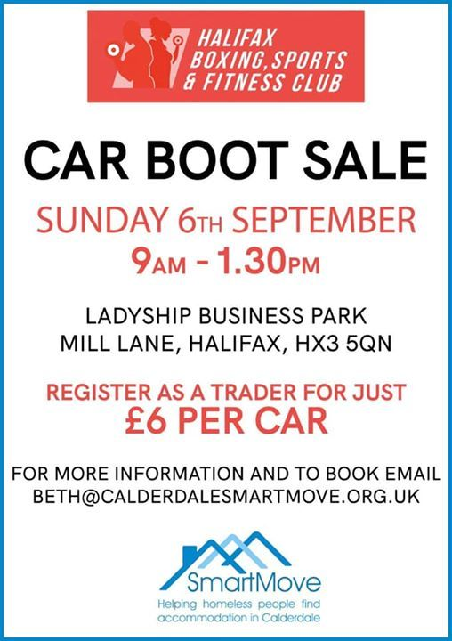 Car Boot Sale At Halifax Boxing Sports Amp Fitness Club