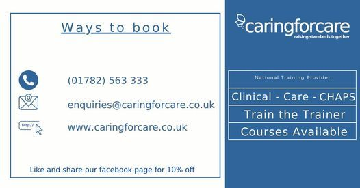 Moving & Handling People Training, 5 March   Event in Kidsgrove   AllEvents.in
