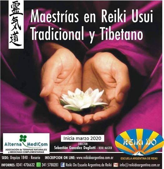 Maestrias Reiki 2020 Rosario - Santa Fe